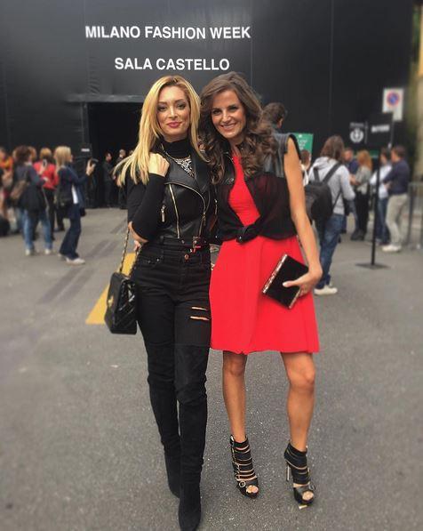 Emilie Nef Naf à Milan