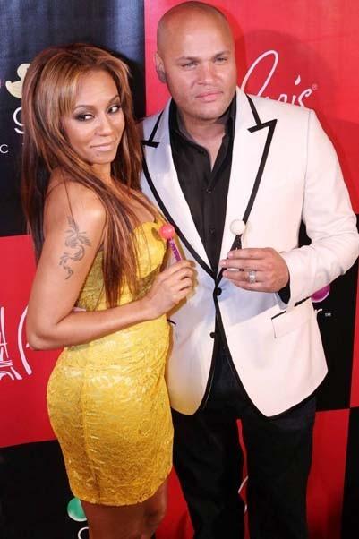 Avec son mari depuis 2007, le producteur Stephen Belafonte