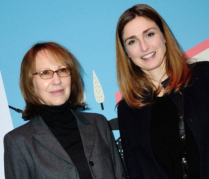 Julie Gayet et Nathalie Baye