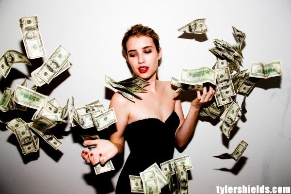 Emma Roberts shootée par Tyler Shields !