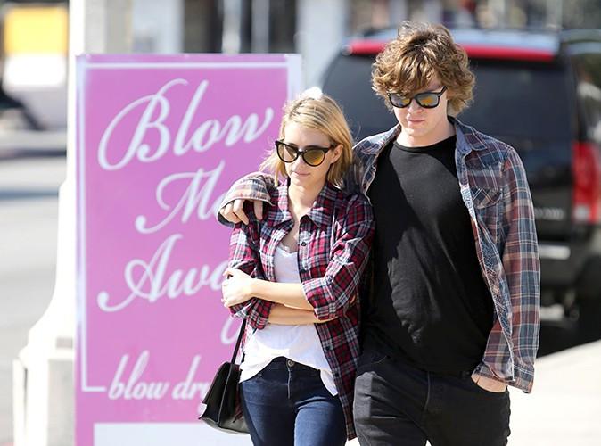 Emma Roberts et Evan Peters : des jeunes fianc�s discrets mais assortis !