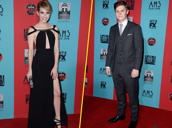 Emma Roberts et Evan Peters : un couple froid et distant sur tapis rouge...
