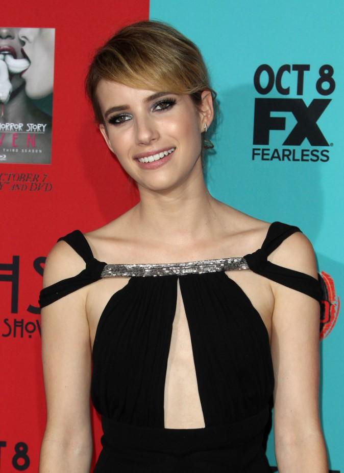 Emma Roberts le 5 octobre 2014