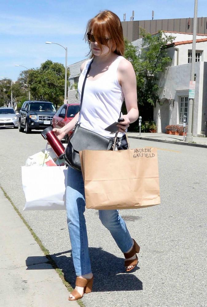 Emma Stone : de nouveau avec Andrew Garfield ?