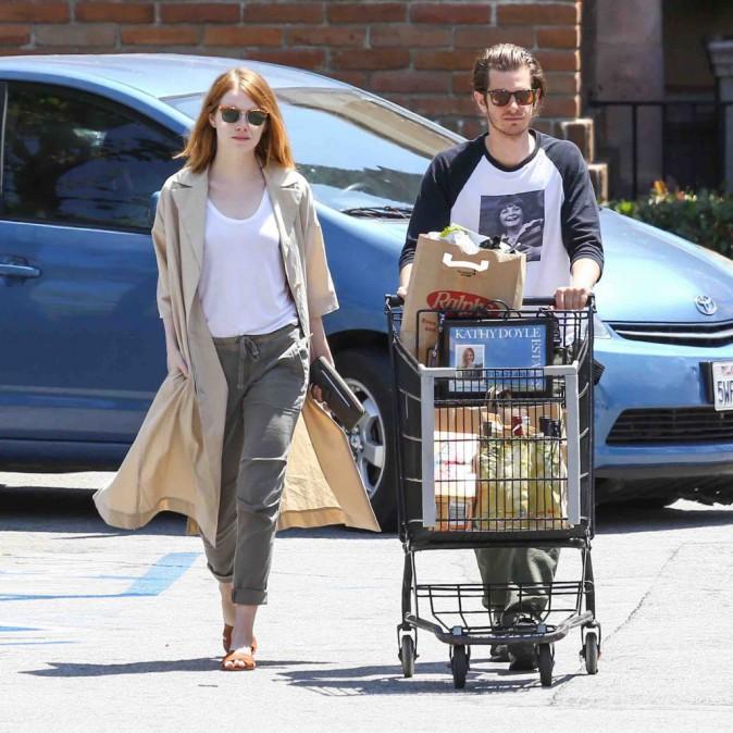 Emma Stone et Andrew Garfield : de nouveau inséparables !
