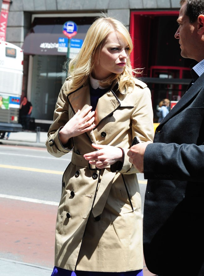 Emma Stone le 25 juin 2012 à New York