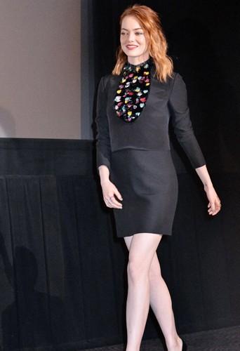 Emma Stone à Tokyo le 31 mars 2014