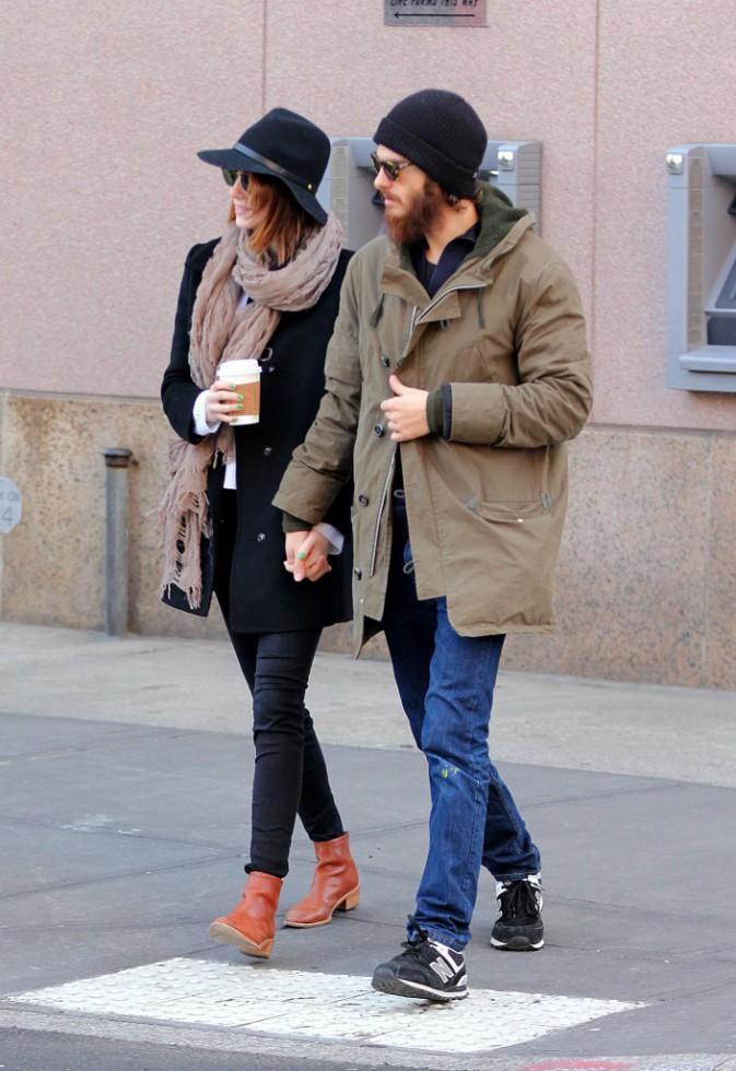 Emma Stone et Andrew Garfield le 29 décembre 2014