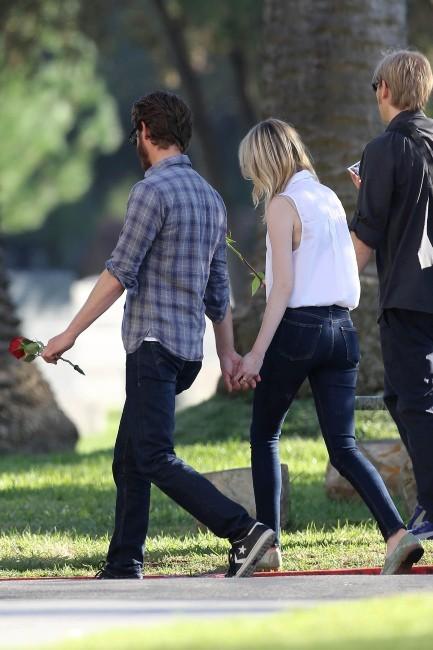 Emma Stone et Andrew Garfield, Los Angeles, 3 novembre 2012.
