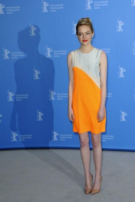 Emma Stone le 15 février 2013 à Berlin