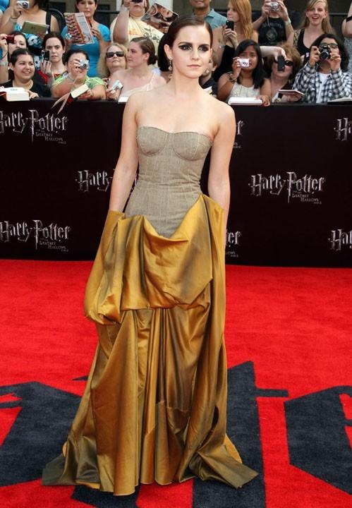 Une robe qui la fait briller sur le red carpet !