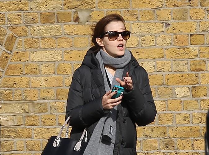 Emma Watson : de retour � Londres, elle profite pleinement des siens !