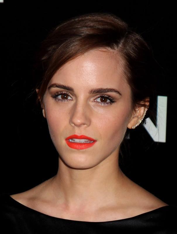 """Emma Watson lors de la première du film """"Noah"""" à New York, le 26 mars 2014."""