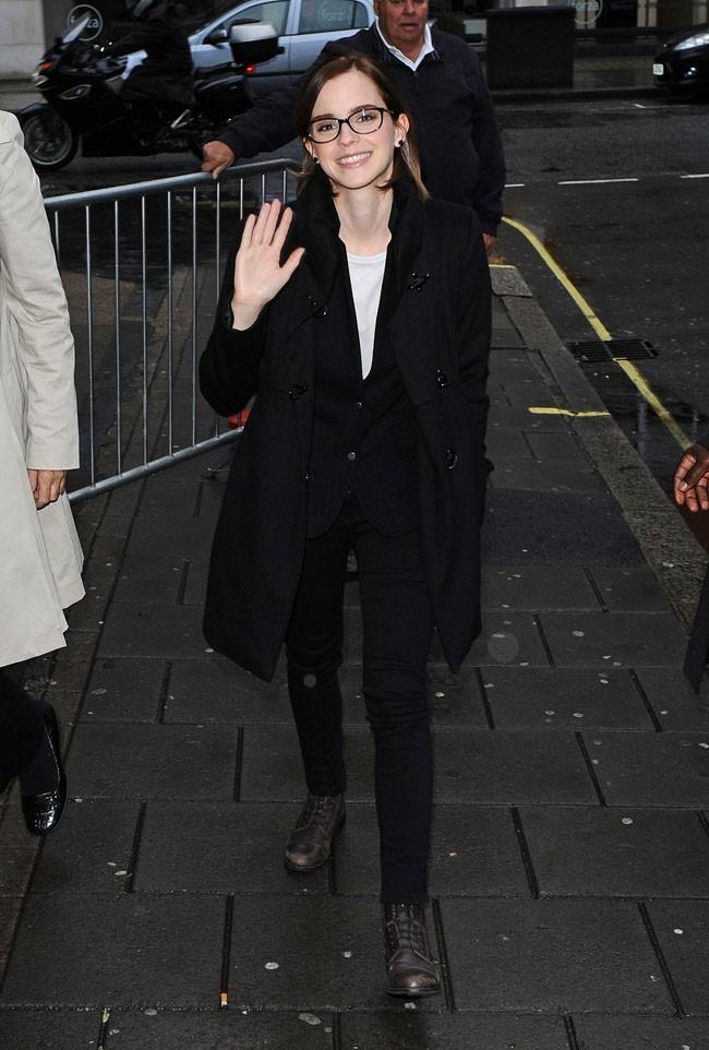Emma Watson le 26 septembre 2012 à Londres