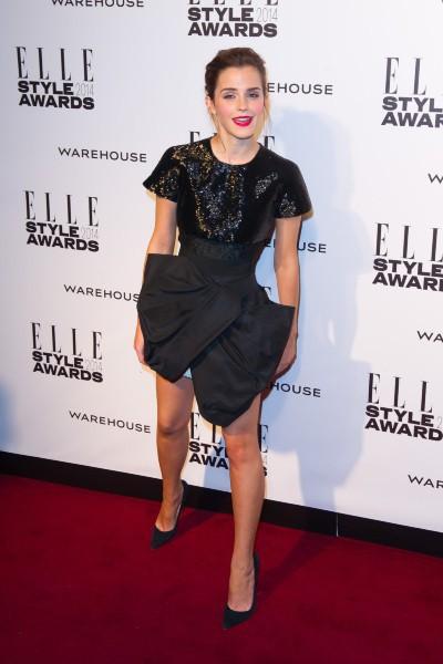 Emma Watson lors de la soirée des ELLE Style Awards 2014, le 18 février 2014.
