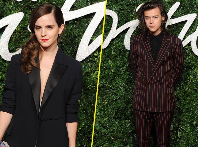 Emma Watson et Harry Styles ensemble ? Les  twittos aimeraient bien !