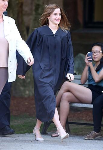 Emma Watson à Providence le 25 mai 2014