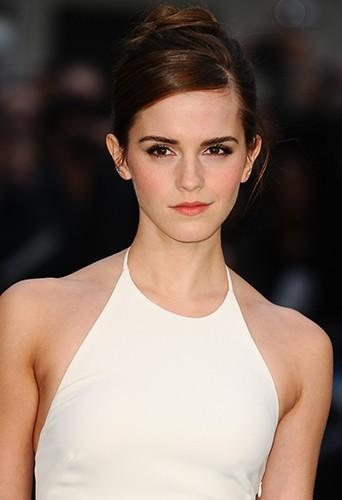 Emma Watson à Londres le 31 mars 2014