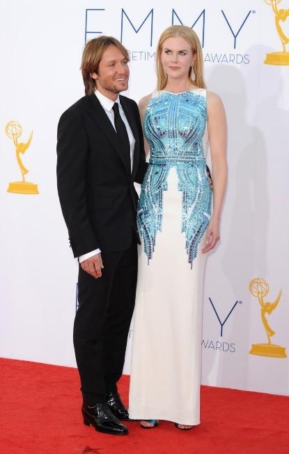 Nicole Kidman et Keith Urban lors des Emmy Awards à Los Angeles, le 23 septembre 2012.