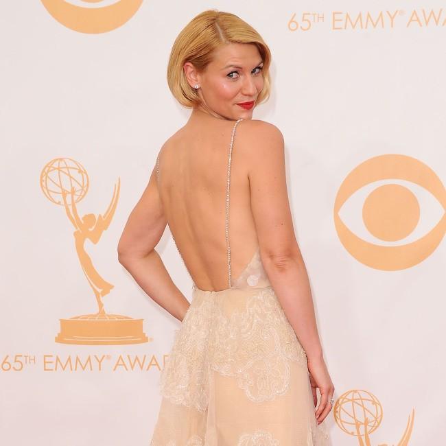 Claire Danes lors de la cérémonie des Emmy Awards, le 22 septembre 2013.