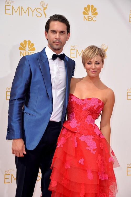 Kaley Cuoco et Ryan Sweeting (mariés depuis 2013)