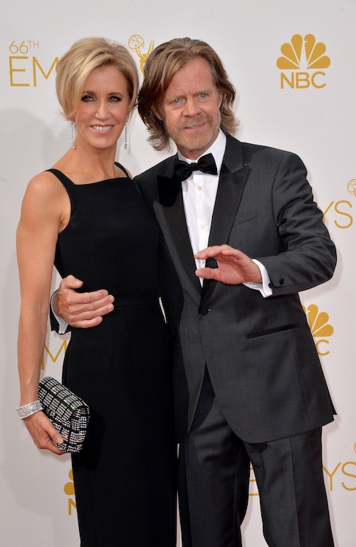 Felicity Huffman (Desperate Housewives) et William H. Macy aux Emmy Awards 2014