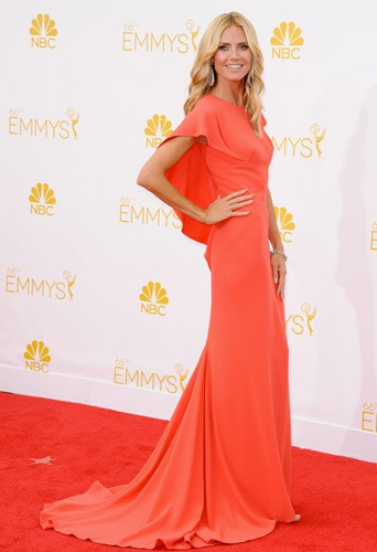 Heidi Klum aux Emmy Awards 2014