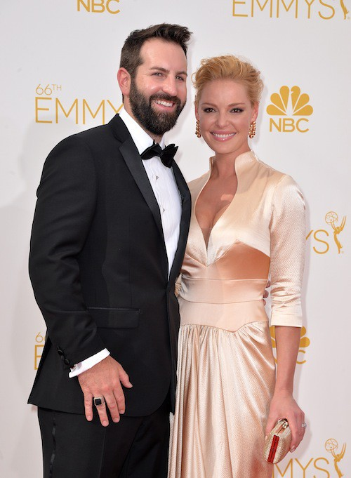 Katherine Heigl (Grey's Anatomy) et Josh Kelley aux Emmy Awards 2014