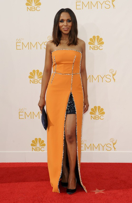 Kerry Washington aux Emmy Awards 2014