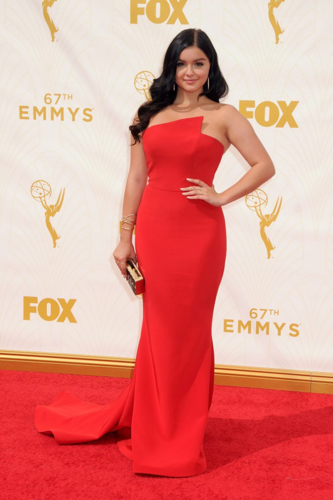 Ariel Winter aux Emmy Awards 2015