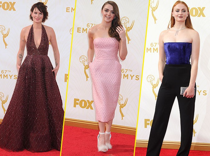 Emmy Awards 2015 : Lena Headey, Maisie Williams, Sophie Turner... Les reines de la soirée !