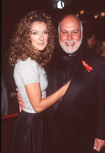 René Angélil et Céline Dion aux Annual People's Choicee Awards à Los Angeles, le1er novembre 1999