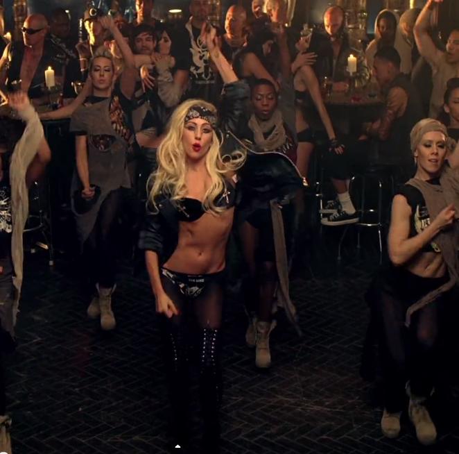 Lady Gaga dans Judas
