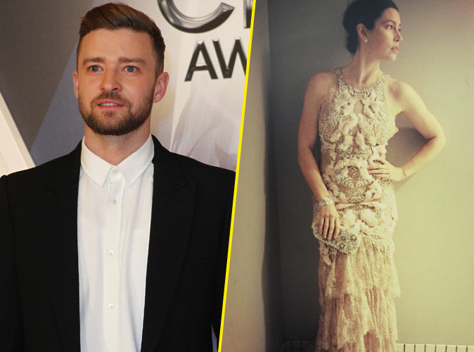 En solo sur le red carpet des Country Music Awards, Justin Timberlake retrouve sa belle Jessica Biel !