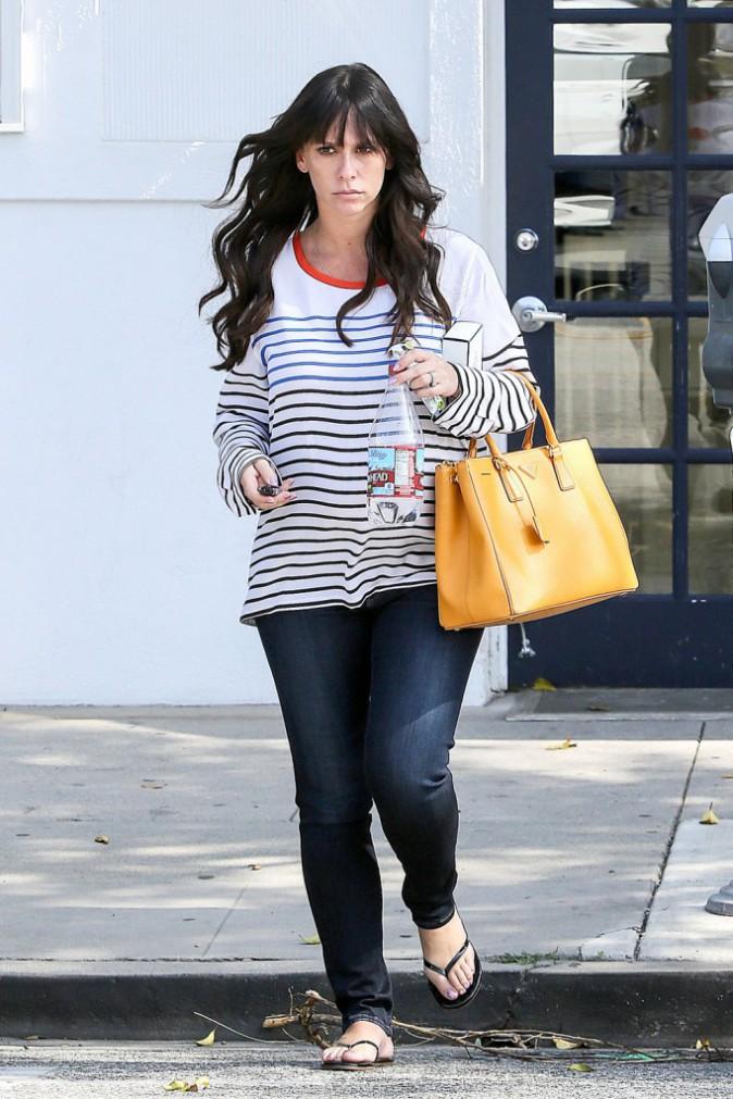 Jennifer Love-Hewit, alors enceinte de Autumn James !