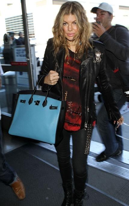 Fergie a laissé ses copains des Black Eyed Peas