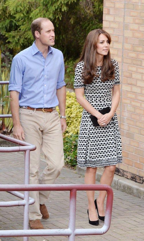 Photos : Epuisée, Kate Middleton tient le coup aux côtés de William !