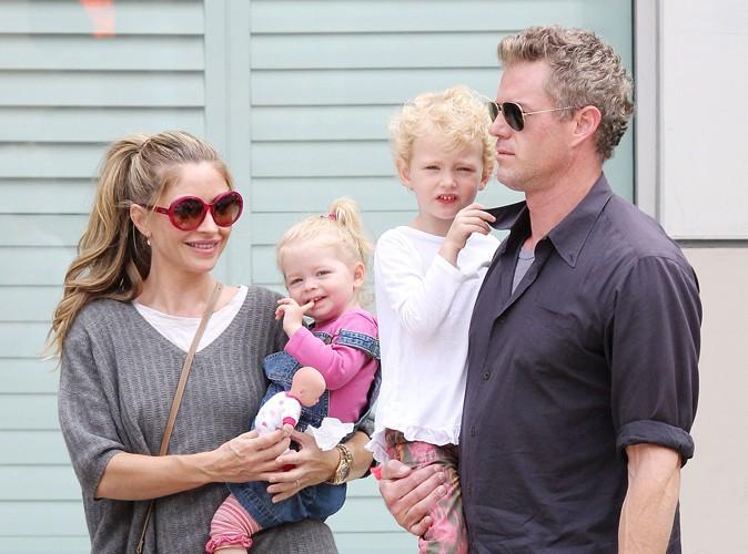 Eric Dane et sa famille à Beverly Hills le 3 août 2013