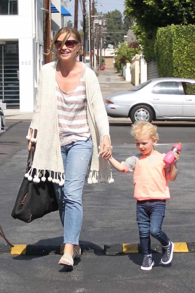 Billie et sa maman, l'actrice Rebecca Gayheart