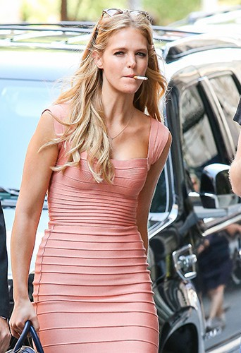 Erin Heatherton à New-York le 30 juillet 2013