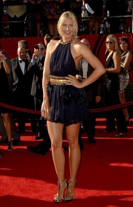Maria Sharapova lors de la cérémonie des ESPY Awards à Los Angeles, le 13 juillet 2011.