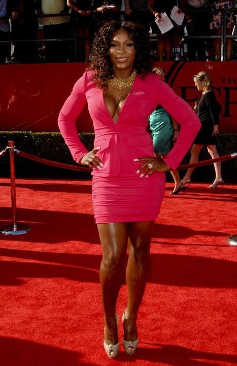 Serena Williams lors de la cérémonie des ESPY Awards à Los Angeles, le 13 juillet 2011.