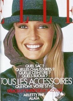 En 1986, Estelle faisait déjà la couv' de Elle... Vingt-sept ans avant sa fille...
