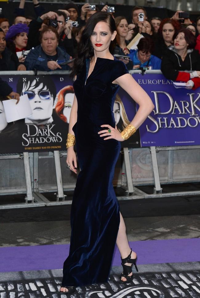 Eva Green le 9 mai 2012 à Londres