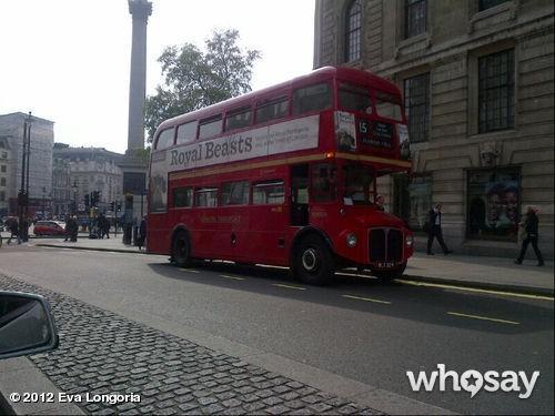 Londres et ses autobus à impériale !