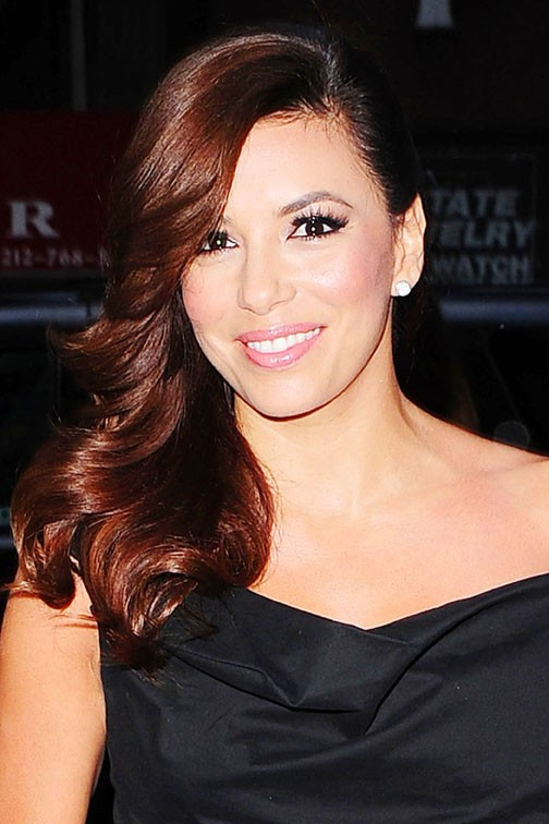 "Eva Longoria pour la promotion de ""Ready For Love"" à New-York le 8 avril 2013"