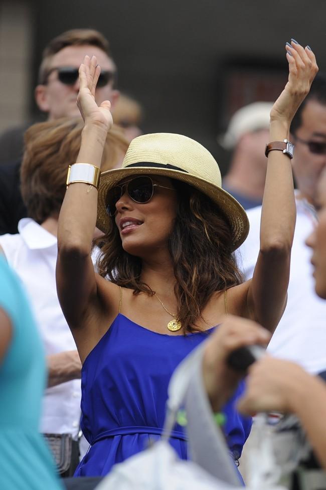 Eva Longoria le 3 septembre 2012 à New York