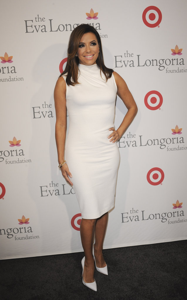 Eva Longoria à Hollywood le 5 novembre 2015