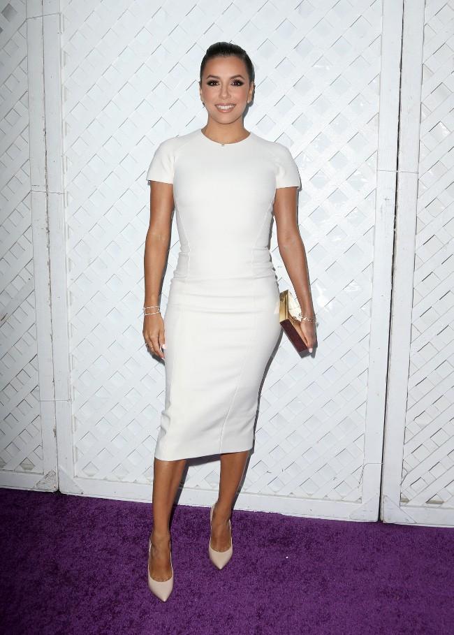Eva Longoria à Los Angeles le 8 août 2015