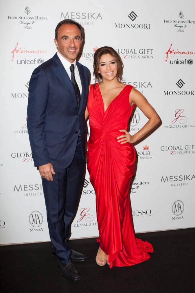 Eva Longoria et Niko Aliagas le 25 mai 2015